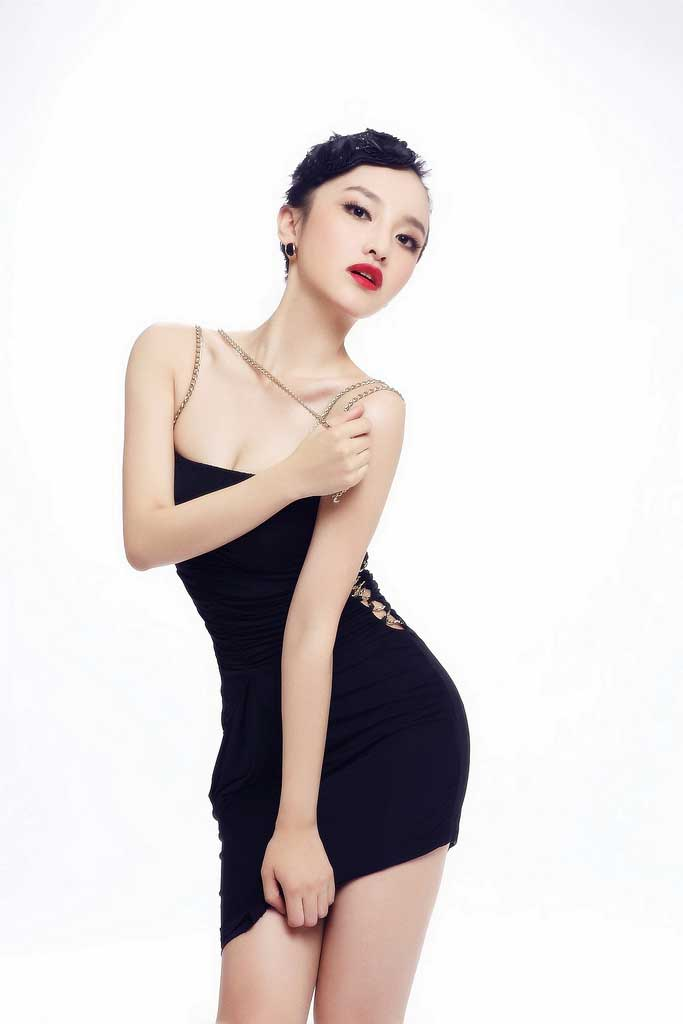 Chinese Girl In A Little Black Dress
